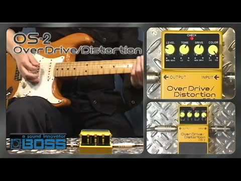 OS-2 OverDrive / Distortion  [BOSS Sound Check]