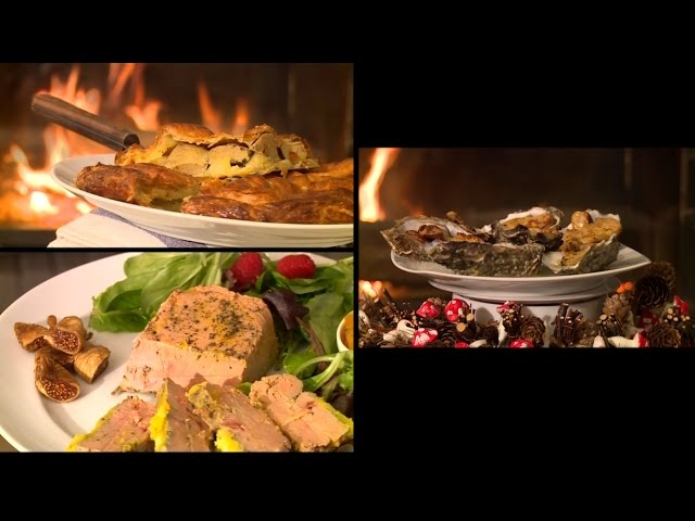 Recette : entrées de Noël au foie gras