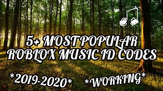 5+ *MOST POPULAR* ROBLOX MUSIC ID CODES *WORKING* *2019-2020*
