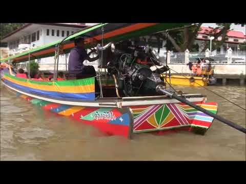 AMAZING ADVENTURE IN CANAL RIVER BANGKOK THAILAND