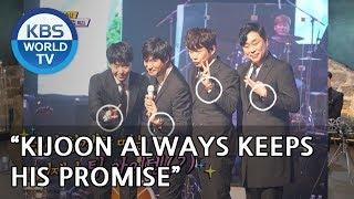 Kijoon purchased clocks for 'Um Yu Min Pub' team?  [Happy Together/2018.12.20]