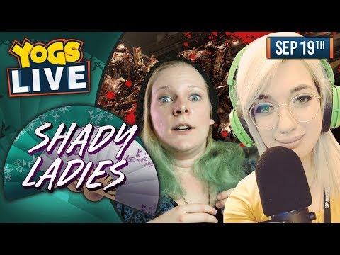 CO-OP SPOOPS! - Resident Evil 6! - Shady Ladies! - 19th September 2018
