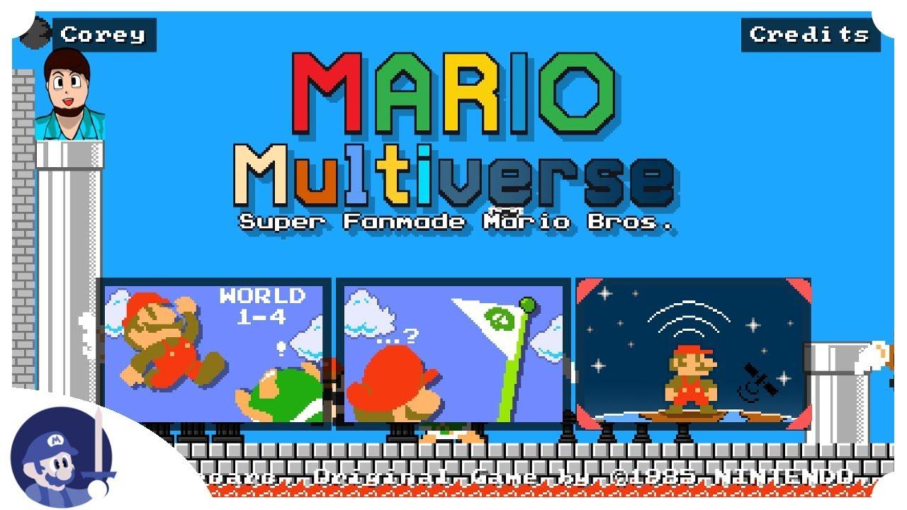 Mario multiverse download fan games