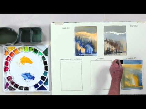 Preview | Color Foundation with Stephen Quiller: Different Ways to Apply Paint