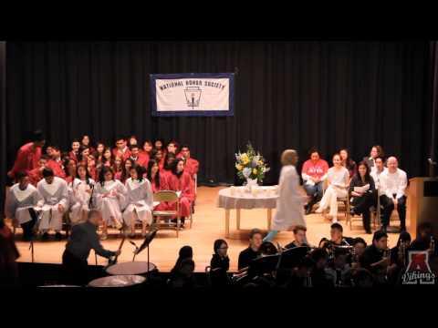Amundsen High School National Honors Society Inauguration 2014