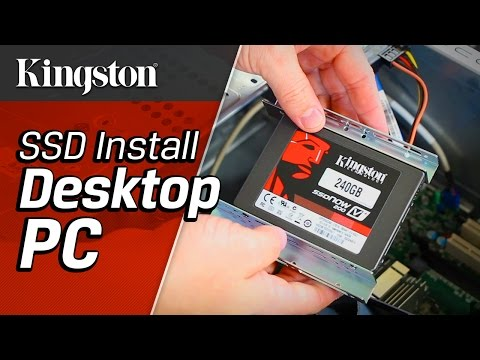 Installing a SSD in a Desktop PC