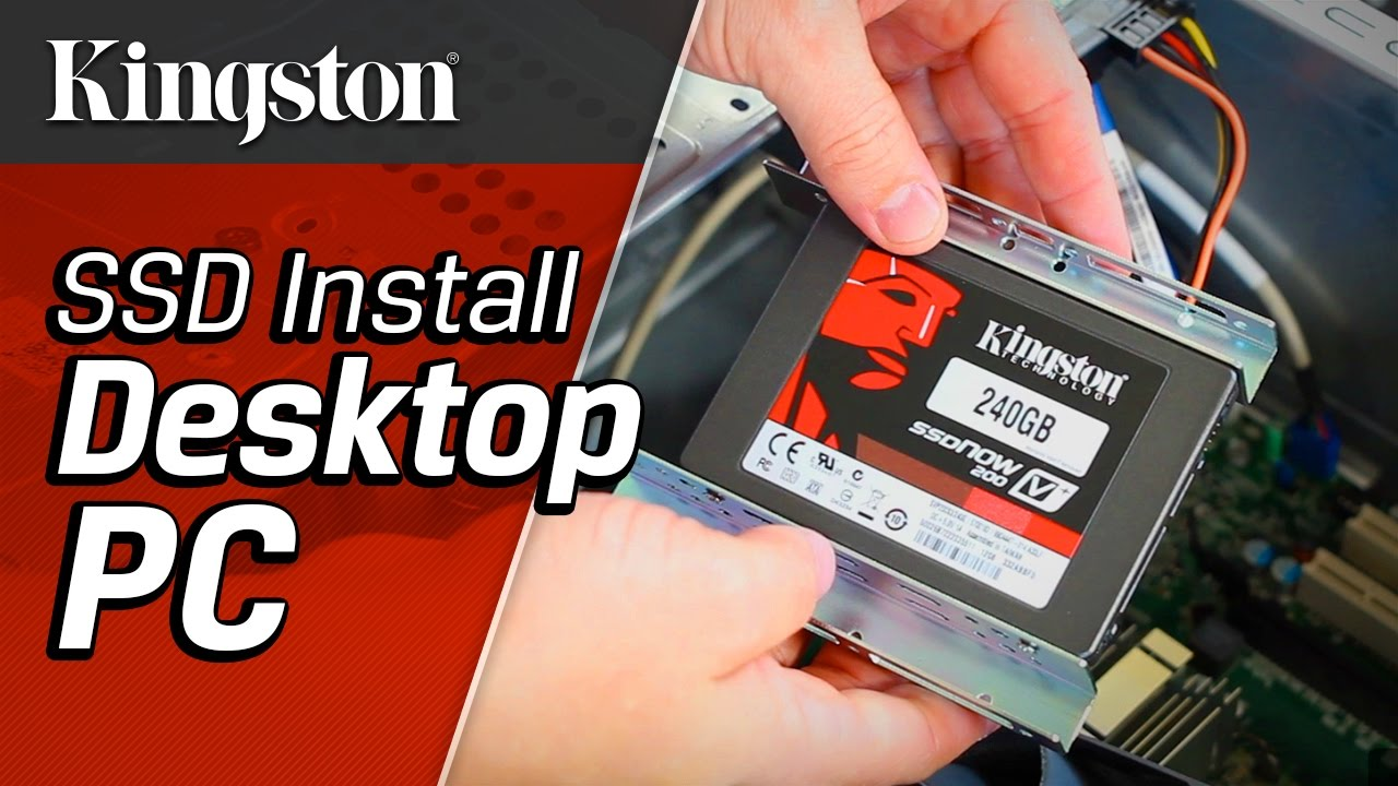 Installing A Ssd In Desktop Pc Youtube Removing The Power Supply