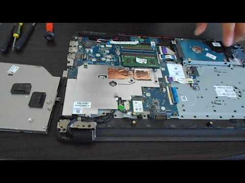 How to open HP Notebook  TPN-C125 / TPN-I120