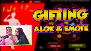 Download Mp3 Gifting Dj Alok And New Tea Time Emote To My Sister - Bbf