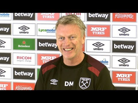David Moyes Full Pre-Match Press Conference - Manchester City v West Ham - Premier League