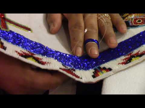 The Art of Shoshone Beadwork, by Talliah Hanchour - a 2017 Deep West Video