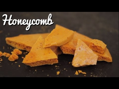 Make your Own Honeycomb - Crumbs