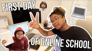 First Day of Online College | Biomedical Major