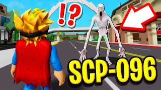 We Found SCP-096 In Roblox BROOKHAVEN RP!! (Scary)