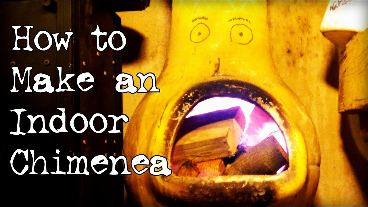 How to make an indoor chiminea - YouTube