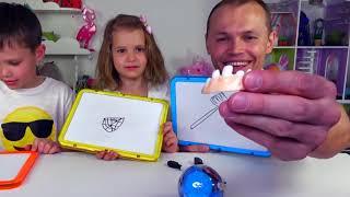 ЧЕЛЛЕНДЖ АССОЦИАЦИИ с игрушками Minecraft и Roblox . Telepathy CHALLENGE