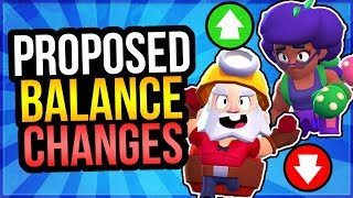 10 Balance Changes Brawl Stars NEEDS! Huge Rosa Nerf, Piper Buff u0026 More!