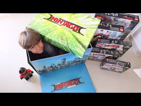 Lego Surprise Package BOX - The LEGO NINJAGO Movie TOYS