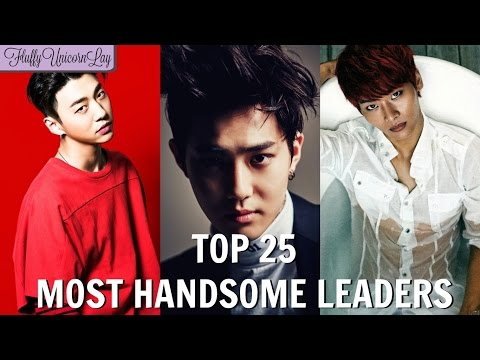 Most Handsome Leaders in Kpop Boy Groups TOP 25  MY OPINION