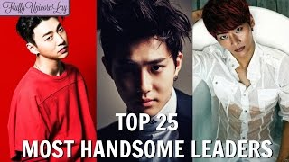 Baixar Most Handsome Leaders in Kpop Boy Groups [TOP 25] || MY OPINION ||