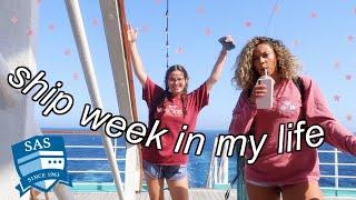 SHIP WEEK IN MY LIFE || Semester at Sea