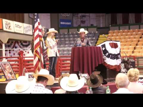 Thumbnail: Lane Frost - The Bull Riding Hall of Fame Induction 2017 Speech