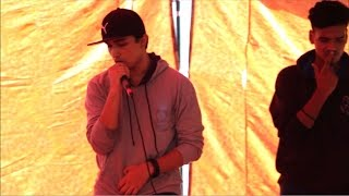 Living In The Now    Shaunak Rawat and Sandeep Kumar    PGDAV college    Live Rap 2016