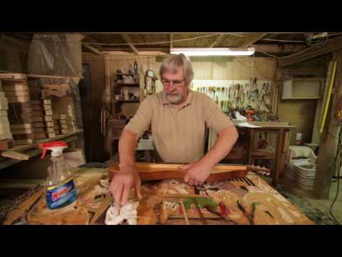 How to String a Dulcimer with Bill Berg