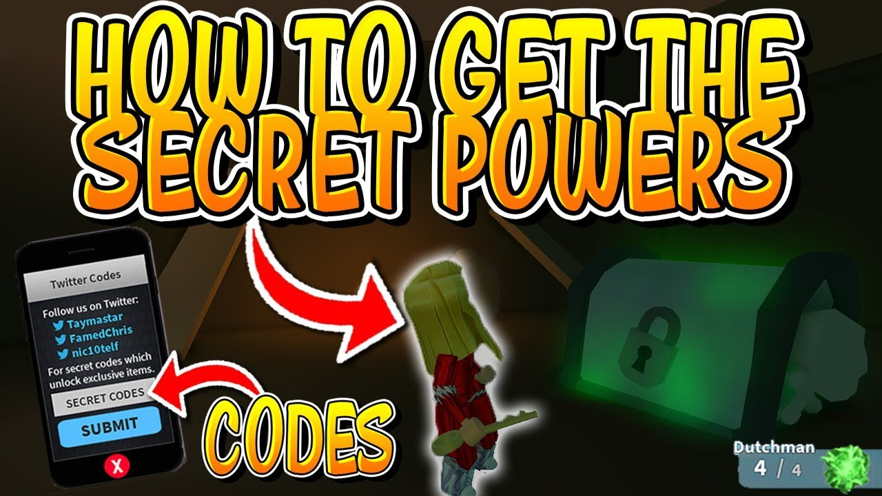 How To Get The Secret Powers In Roblox Mad City And Codes