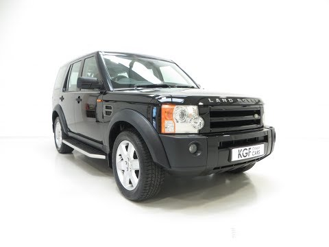 An Outstanding Land Rover Discovery 3 with One Owner and 23,659 Miles - SOLD!