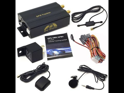 Sourcingbay GPS  Real-time Vehicle Tracker TK103A