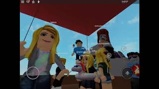 Playing a game in Roblox
