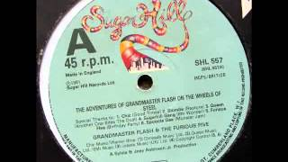 A. The Adventures Of Grandmaster Flash On The Wheels Of Steel MEGAMIX