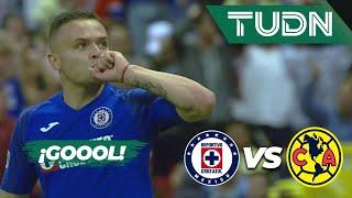 ¡Pero qué golazo de 'Cabecita' Rodríguez'!  | Cruz Azul 5 - 2 América | Liga Mx - AP 19 - J13 | TUDN