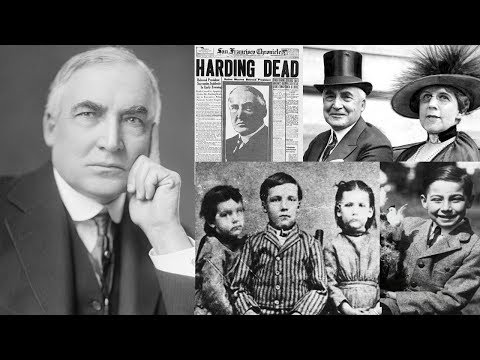 Unknown Mind Blowing Facts About Warren G Harding || Pastimers