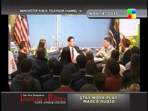 """""""Life of the Party"""" - Marco Rubio"""