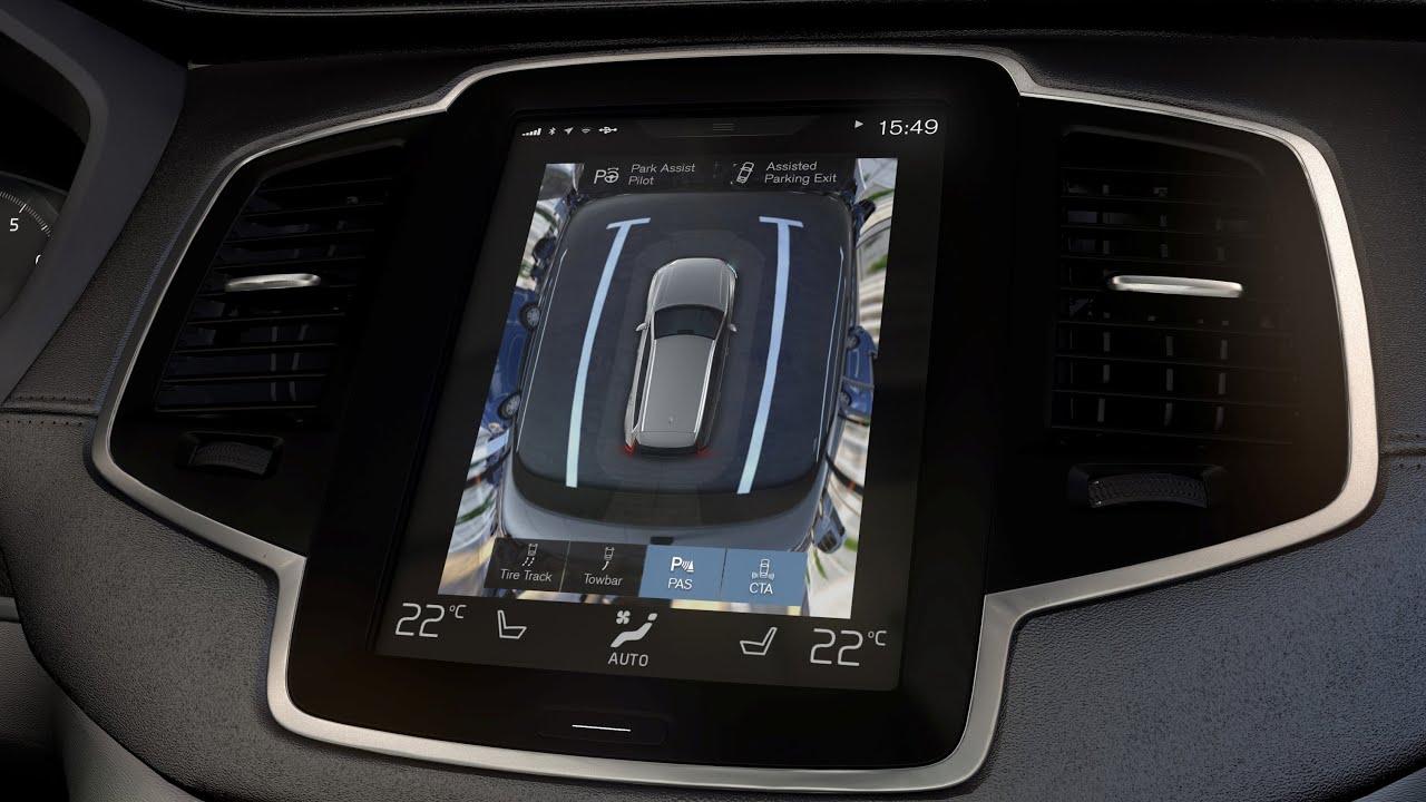 Volvo Xc90 360 176 Surround View Intellisafe Youtube