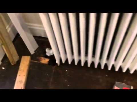 Install Wood Floors Under Radiator, How To Install Laminate Flooring Around Radiators