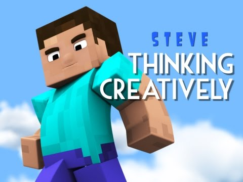 Steve - Thinking Creatively (Minecraft Animation)