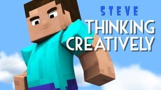 Steve - Thinking Creatively (Minecraft Animation) thumbnail