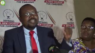 MDC Press Conference Ahead Of The 16 August Protest
