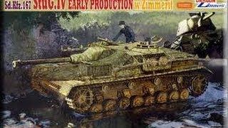 Kit Review: Dragon STuG IV Early W/Zimmerit