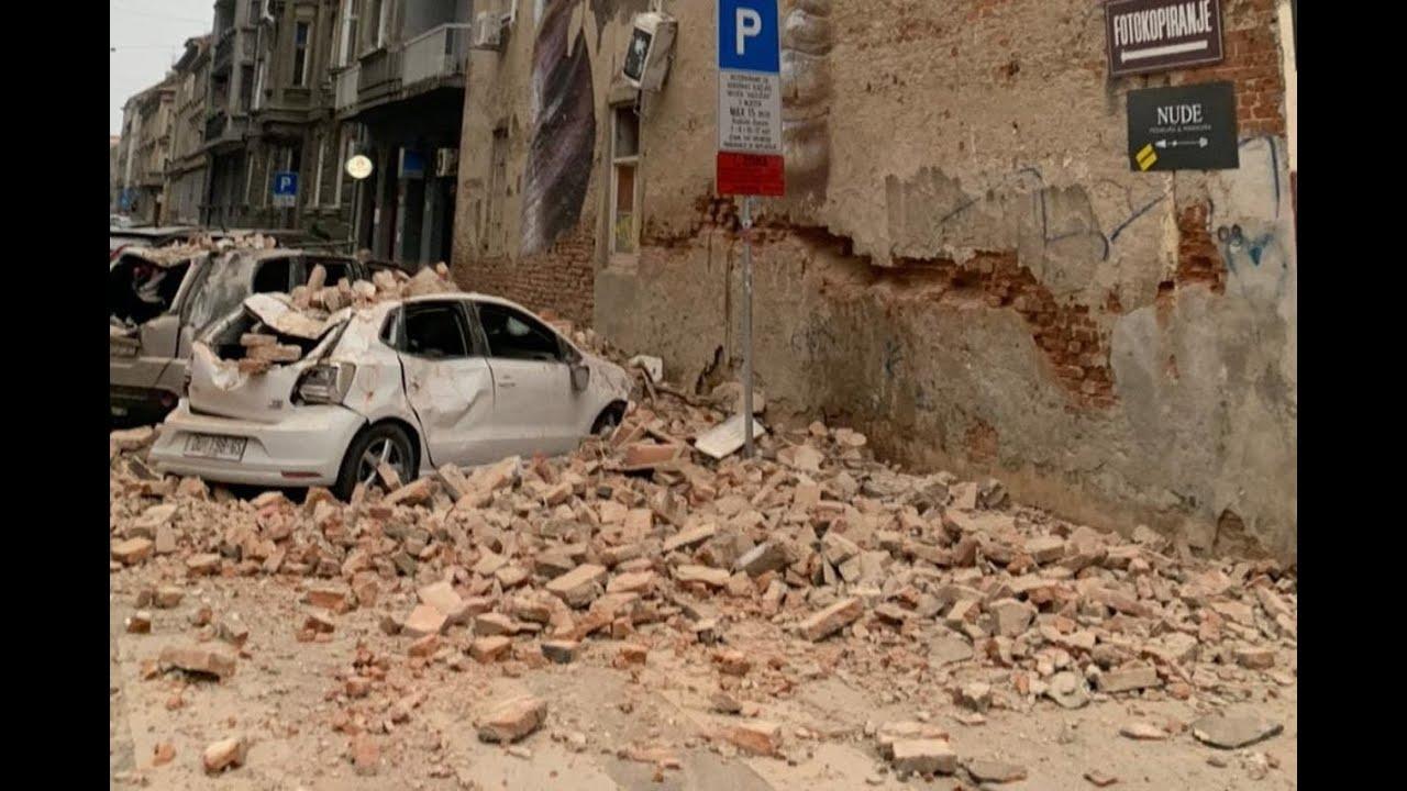 Potres Zagreb Mag 5 4 22 3 2020 Youtube