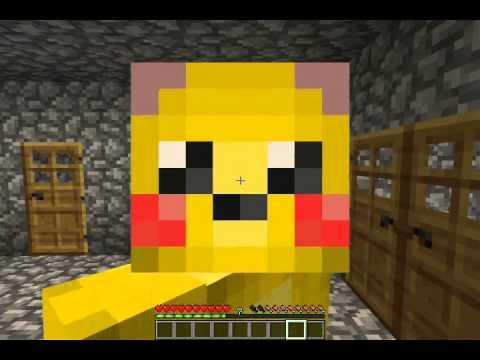 Minecraft Ep 6Blazes And Pikachu Skin YouTube
