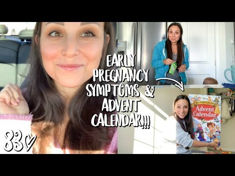 FEELING ALL THE EARLY PREGNANCY SYMPTOMS // WEEKLY 83