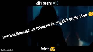 Anuel AA - Ella Quiere Beber (Remix) ft. Romeo Santos Letra ( ESTADO PARA WHATSAPP )