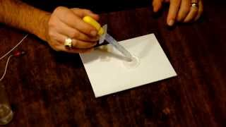 Fun with Magnetic Water -- Amazing Water Trick!