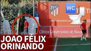 تصرف غير اخلاقي من لاعب اتليتكو مدريد خلال التدريبات - بالجول