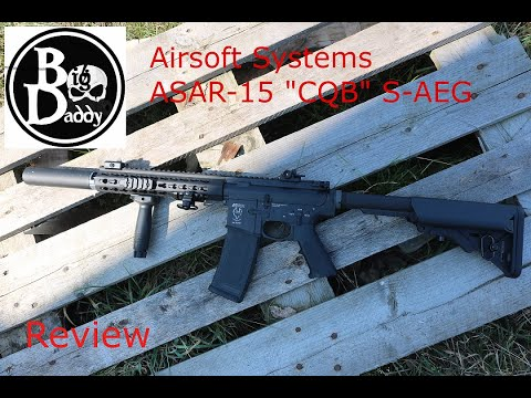 "Airsoft Systems ASAR-15 ""CQB"" Review"