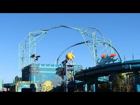 Electric Eel Construction Update #4  Sea World San Diego